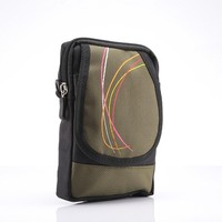 Jogging Phone Bag For Fly Era Life 7 IQ4505 Quad Pouch Sports Cover Case Multicolor Qutdoor Sport Holster Bag Hook Loop Belt