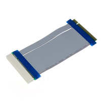 Reliable 32 Bit Flexible PCI Riser Card Extender Flex Extension Ribbon Cable PCI male to female riser card extender