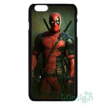 Fit for iPhone 4 4s 5 5s 5c se 6 6s 7 plus ipod touch 4/5/6 back skins cellphone case cover Superhero DEADPOOL ASS