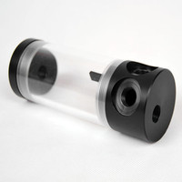 New POM material acrylic cylindrical water tank Cylcal water tank acrylic pom material 50mm 140mm long YU0088
