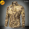high Quality 2016 Outdoors Wear resisting Commando Tactical Army Waterproof Windproof Jacket Men Camouflage Cargo Coat