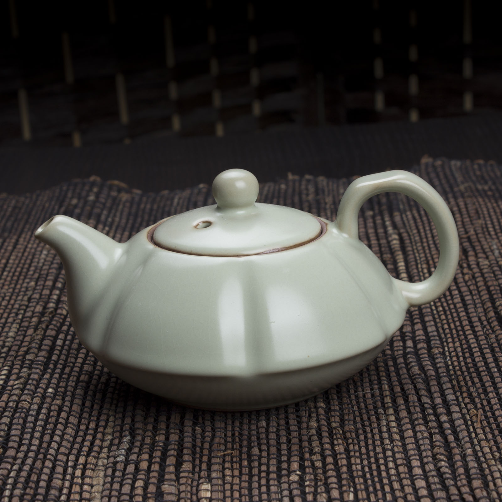 Ru tea set teapot pumpkin single pot quality ceramic cup tea pot