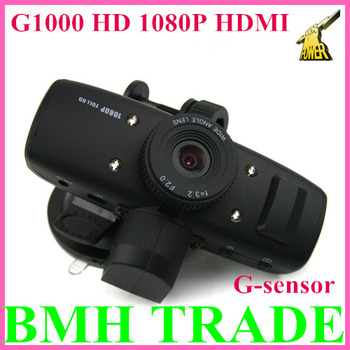 High Quality&100%New Arrival Mini HDMI G1000 HD 1080P HDMI Car DVR Camcorder Recorder G-sensor