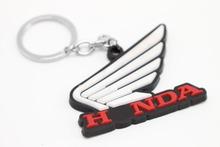 Motorbike Motorcycle Key Chain Keychain Keyring Key ring SOFT RUBBER keychains FOR Motorcycle for honda