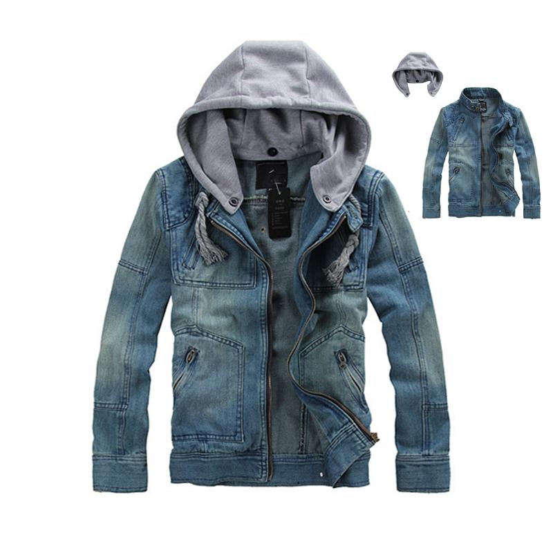 Popular Plus Size Blue Jean Hoodie Jacket-Buy Cheap Plus Size Blue