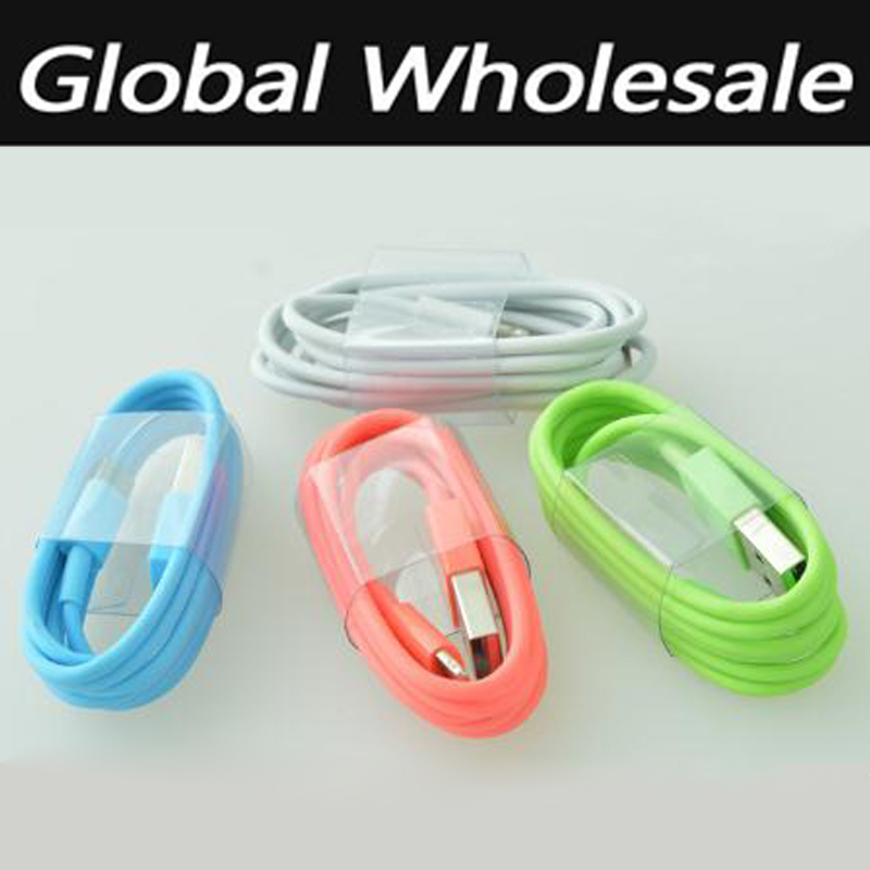 10 pcs/lot USB Cable Bulk 100cm Micro Mobile Phone Charging Data Sync Charger Transfer For iPhone 5 6 Mobile Phone Wholesale(China (Mainland))