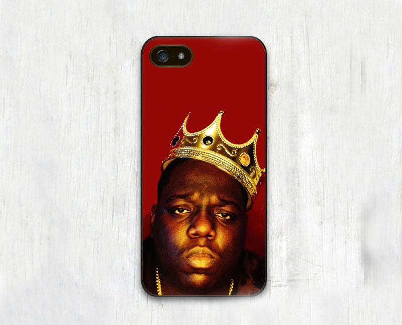 Notorious Big Fashion Original Soft TPU Black Skin Mobile Phone Cases For iPhone 6 6S Plus 5 5S 5C 4 4S Back Cover Bags Shell