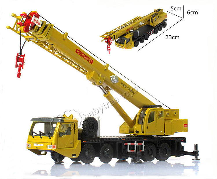 High Quality KDW 1:55 Scale Die cast Mega Lifter Crane Construction Vehicle Car Model Toys Hobbies classic Mini Car Toys(China (Mainland))
