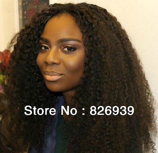 Natural Afro Weave Natural Soft Afro Curl Virgin