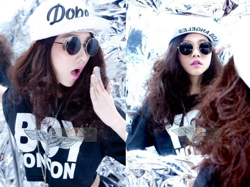 cat walk 2015 alloy sunglasses Newest women Punk retro Man round Polarized uv400 Spindly Legs high quality buy any 2 send box(China (Mainland))