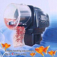 Hot Sale Digital LCD Automatic Aquarium Tank Auto Fish Feeder Timer Food Feeding(China (Mainland))