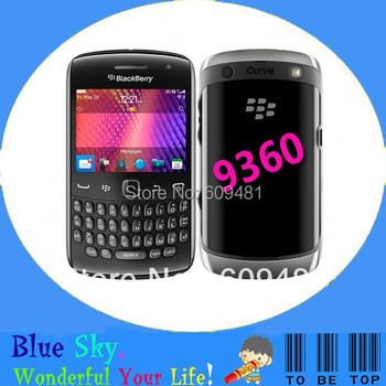 9360 Original Refurbished BlackBerry Curve 9360 original unlocked phones 5.0MP Camera GPS WIFI 3G mobile