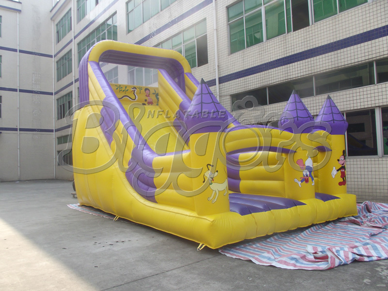 Giant commercial Inflatable Slip And Slide Inflatable Slide For Happy Childhood(China (Mainland))