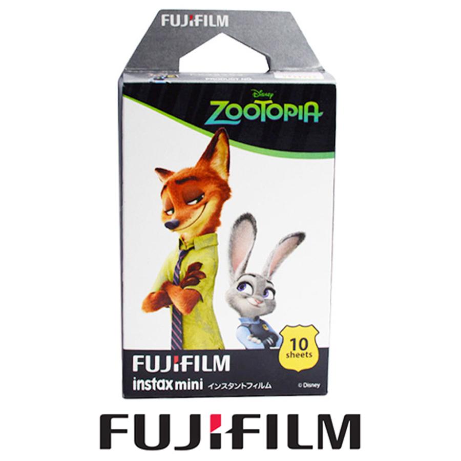 Fujifilm Fuji Instax Mini 8 Film Zootopia 10pcs Photo Paper Films for Fujifilm Instax Mini 8 7 7s 25 50 90 70 SP1 Instant Camera(Hong Kong)