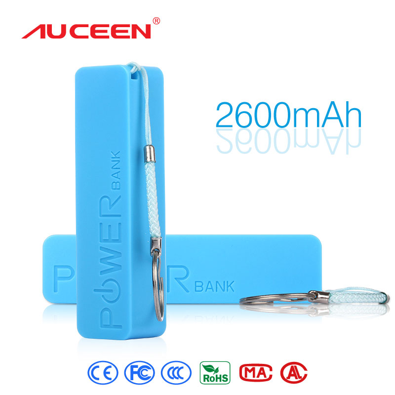 Auceen Real 2600mAh perfume mini Power Bank universal USB Portable Rechargeable External Backup Battery for mobile phones tablet(China (Mainland))