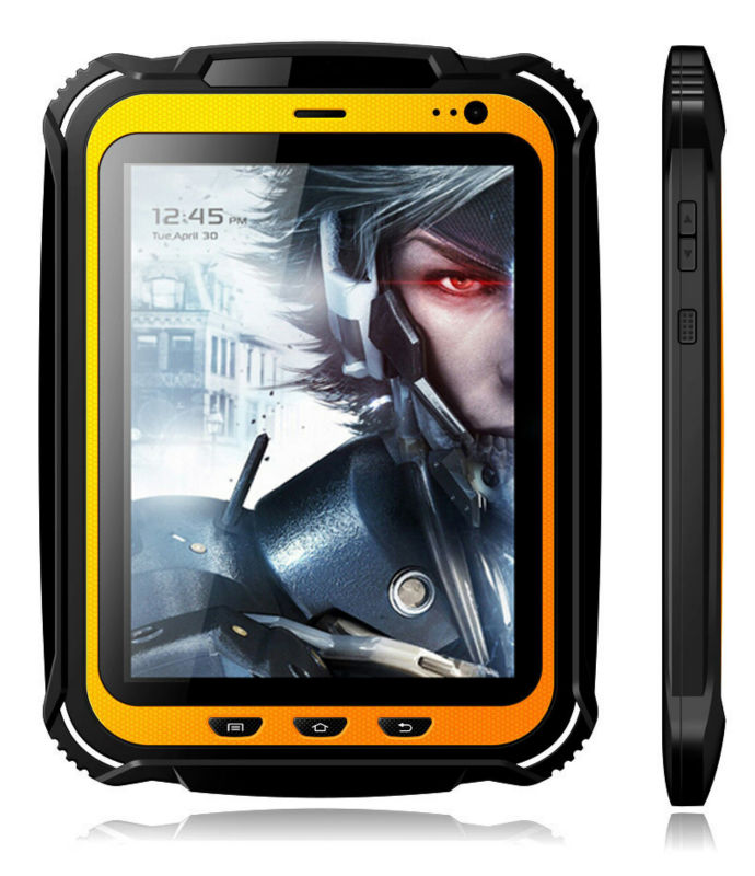 Handheld Rugged Tablet PC Extreme Outdoor Industrial Tablet PC phone GPS IP67 Android Waterproof Quad core NFC 15000mAH 2GB RAM(China (Mainland))