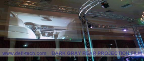 BEST PRICE,High resolution adhesive rear projector film/3d gray projection screen (1 roll= 1.524m*30m)(China (Mainland))