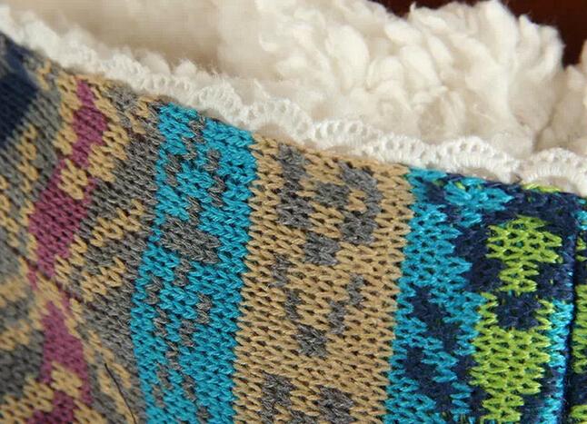 Длинный  Рукав Вязанаяting  patchwork  Little print  jacket  Закрытый  coat 2015 autumn female