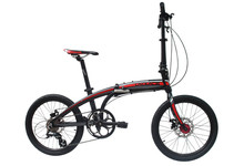 Buy 8s Laplace V8 Folding Bike Mountain bike folding bicycle 8 speed bicicletas 20 inch standard double disc bicycle adult bikes for $254.49 in AliExpress store