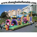 CHEAP price Commercial PVC HIGH QUALITY inflatable obstacle course with CE blower Inflatable ISLAND inflatable giant