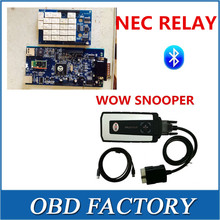 DHL freeship NEC RELAY AND bluetooth 2016 released WOW SNOOPER v5.008 R2 free active tcs cdp pro - The First OBD FACTORY store