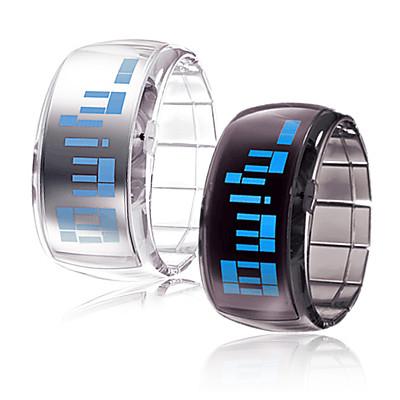 Гаджет  Freeshipping,colorful  bracelet led wrist watch ,gift for chiildrent ,couple,lover None Часы