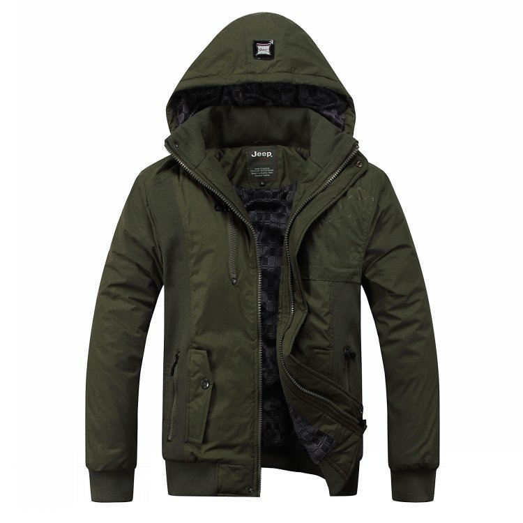 Men s brand uniform cotton - padded jacket Winter plus size thicken the coats for Men, black/army green XL~4 XL free shippingОдежда и ак�е��уары<br><br><br>Aliexpress
