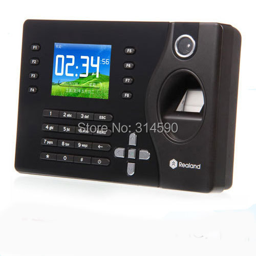 125Khz Card Time Attendance & Fingerprint Time Attendance System With TCP/IP(China (Mainland))
