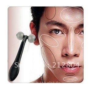 Merry Christmas! Men Facial Cheek T Type Face Roller Neck Massager  Free shipping  HB-015
