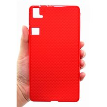 Case for BQ AQUARIS E6 / FNAC PHABLET 2 6 FHD TPU RED
