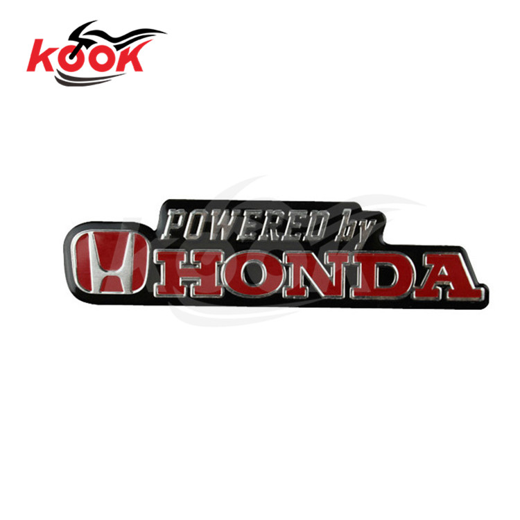 12 Models Optional Motorcycle Stickers For Honda Powered By Written