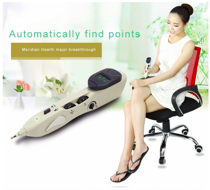 2016 new ly-508b acupuncture meridian pen Electronic massage acupuncture pen point massage instrument for hole equipment/508b(China (Mainland))