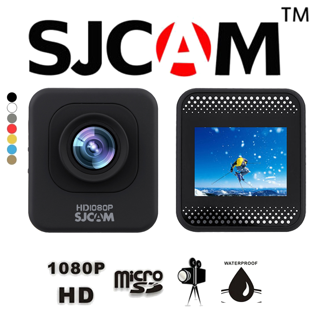 Original SJCAM M10 Cube Full HD 1080P 12MP Diving 30M Action Sports Camera Mini DV Digital Video Camcorder with Waterproof Case(China (Mainland))