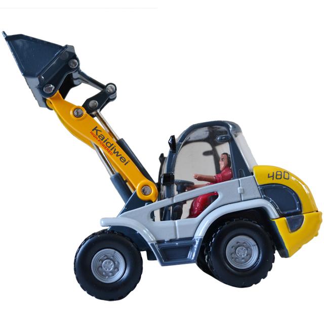 620002 alloy engineering car model forkfuls light toy birthday gift