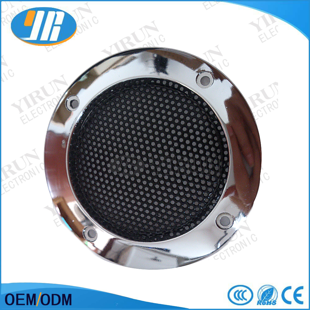 FREE SHIPPING Silver speaker grilles bright 6.5cm high-grade silver car speaker grilles card speaker grille arcade game machine(China (Mainland))