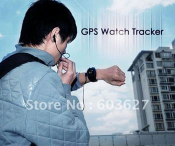 New free shipping GSM GPRS gps watch tracker for child support 2 way voice Phone SOS and over speed limit waring KW621