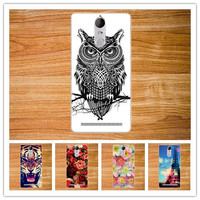 Fashion cute cover Case FOR Lenovo K5 Note (5.5 inch) 3D DIY colored pattern painting cover FOR Lenovo K5 Note phone Case
