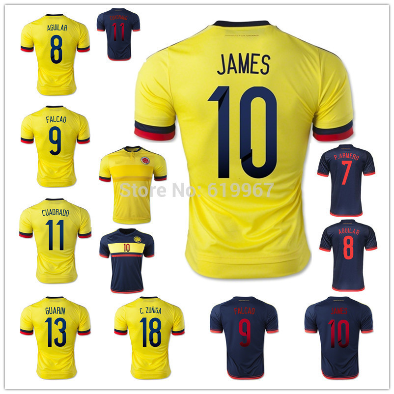 Columbia Football Shirt Colombia Football Shirt