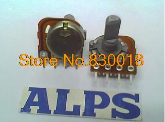 [ SA ]ALPS 16 Type Potentiometer midpoint shaft length 20MM 10KB--1 - ELECTRONICS TECHNOLOGY LIMITED store