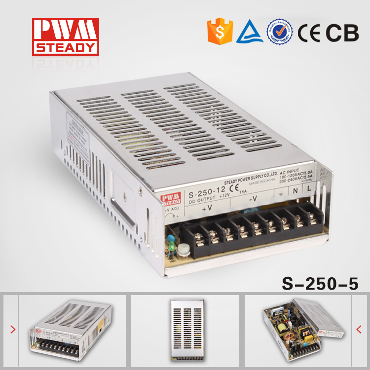 2015 new product 5V 40A 250W power supply unit for LED,CCTV,Camera china manufacturer(China (Mainland))