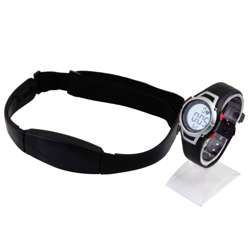 1 Set Chest transmitter strap Watch Outdoor Cycling Sport Waterproof Wireless Heart Rate Monitor Sport Fitness
