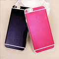 Lovely Candy Color Soft Jelly Silicone Phone Cases for iphone 6 Case Sparkling Bling TPU Cover