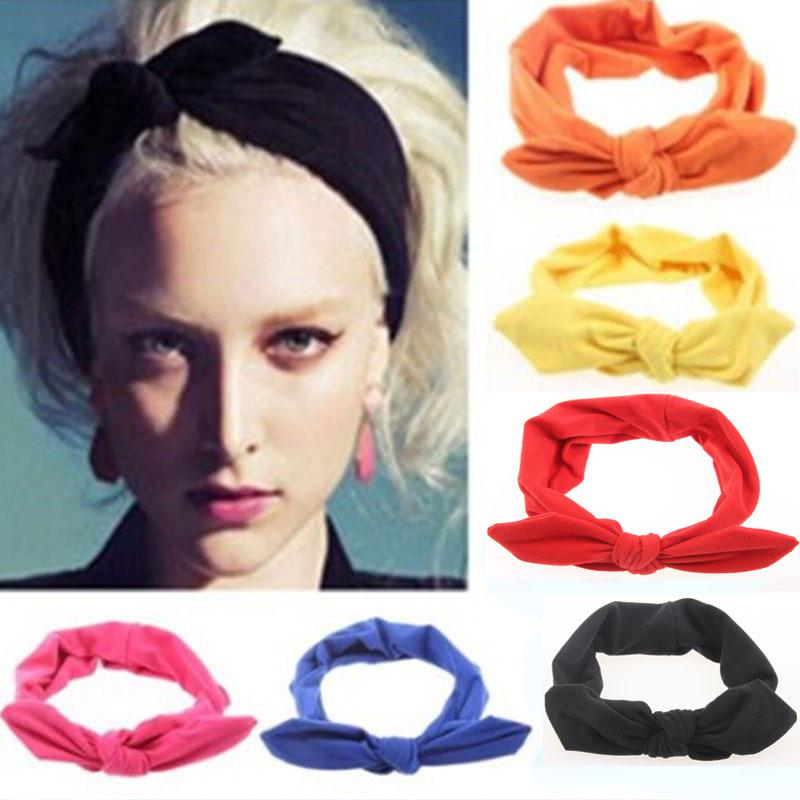2pcsTwist ElasticityTurban Headbands For Women Sport Head Band Yoga Headband Headwear Hairbands Girls Hair Accessories(China (Mainland))