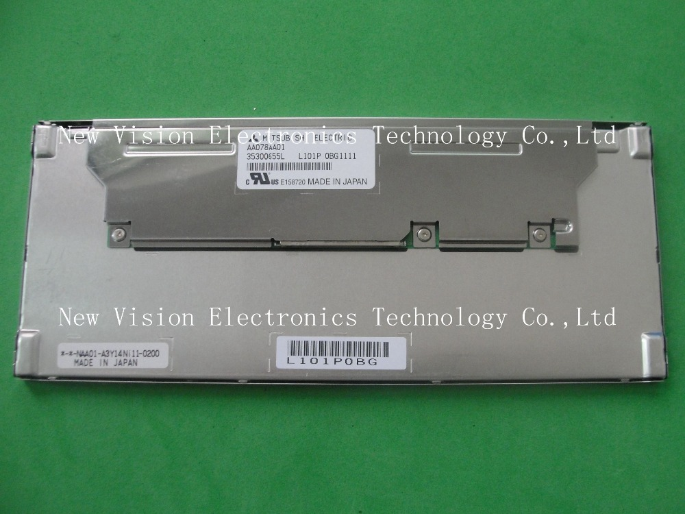AA078AA01 Brand New Original 7.8 inch LED Screen Display for Industrial Application by Mitsubishi(China (Mainland))