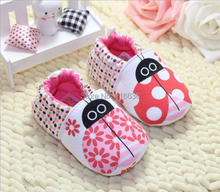 red lady bug couple Baby girl white Shoes Spring Sneakers Sandals Summer girls Drop Shipping New(China (Mainland))