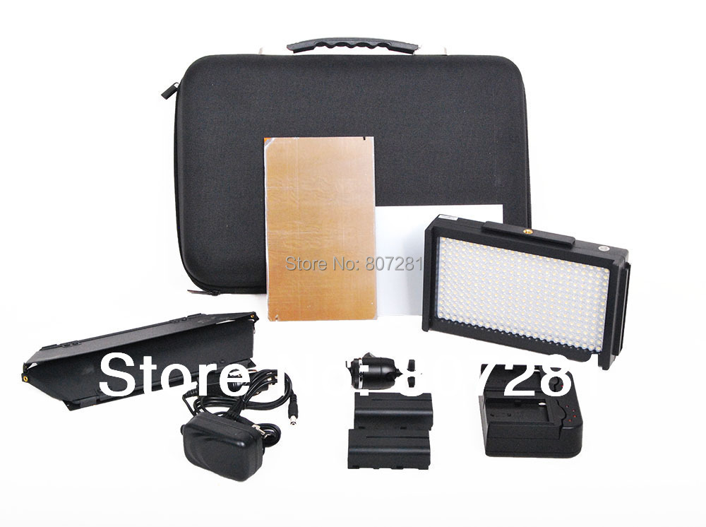 Clearance Sale 312D LED Video Light Camera Sutdio Continuous Light LEDS Video Lights(China (Mainland))