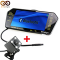 2in1 7 Inch Car Video Parking Monitor Mp4 MP5 Car Mirror Monitor With Rear View Camera