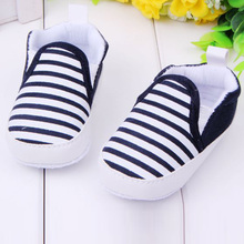 2016 Spring Autumn Fashion Baby Shoes Cool Striped Antiskid Toddlers Boys Shoes First Walker(China (Mainland))