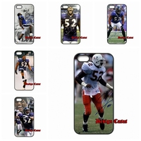 Ray Lewis autograph For HTC One Mini M4 Desire 816 Sony Xperia C3 Z4 Z5 compact iPhone SE iPod Touch 6 Protector