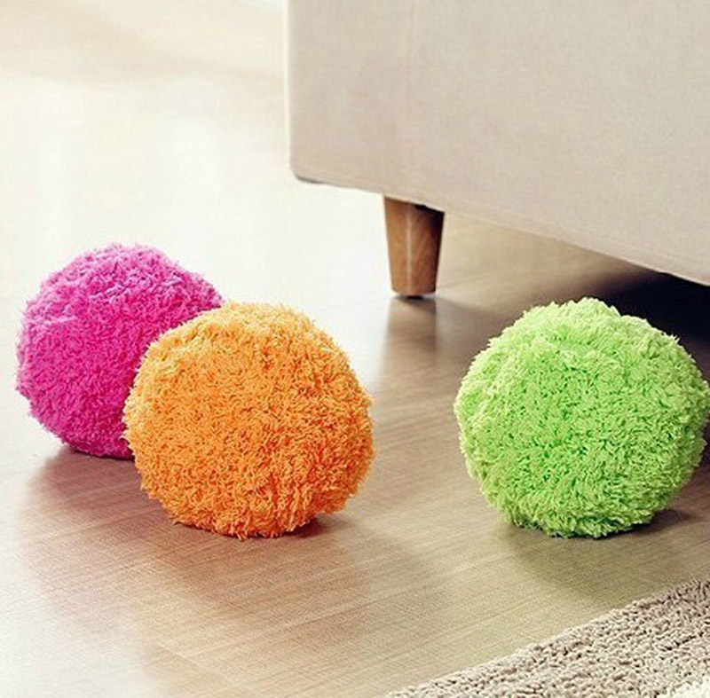 Innovative Automatic Rolling Ball Vacuum Cleaner Mini Sweeping ball Microfiber Robotic Mop Automatic Floor cleaner(China (Mainland))